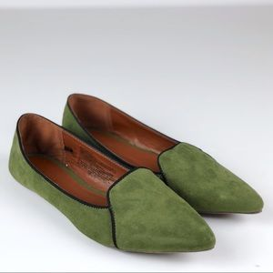 {Old Navy} Loafer Flats• Size 7• Green